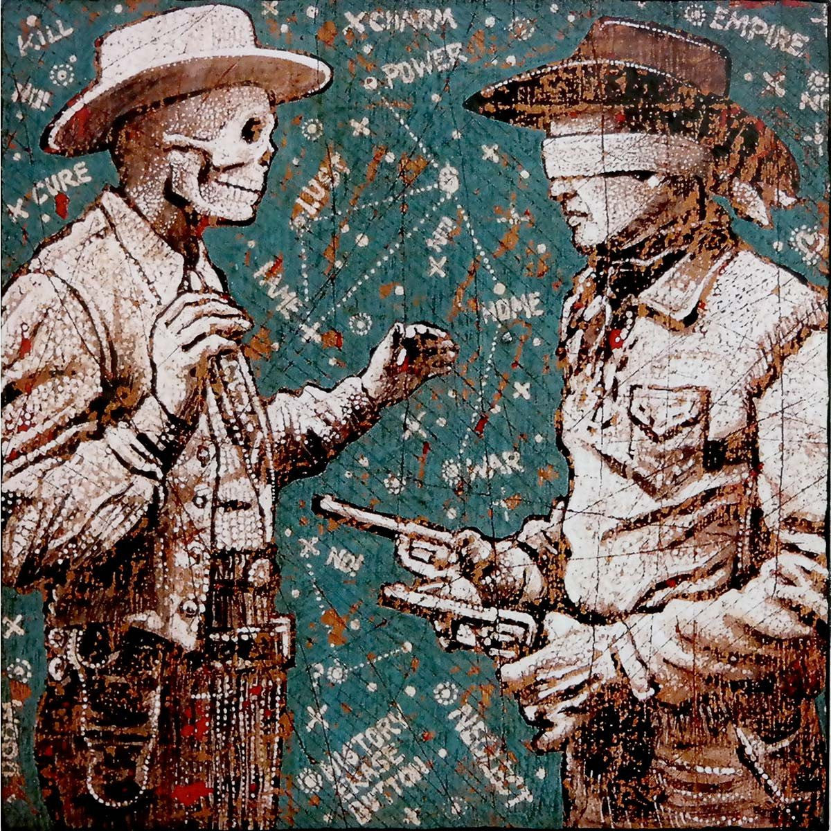 Starmap Cowboys - Jon Langford - Yard Dog Art