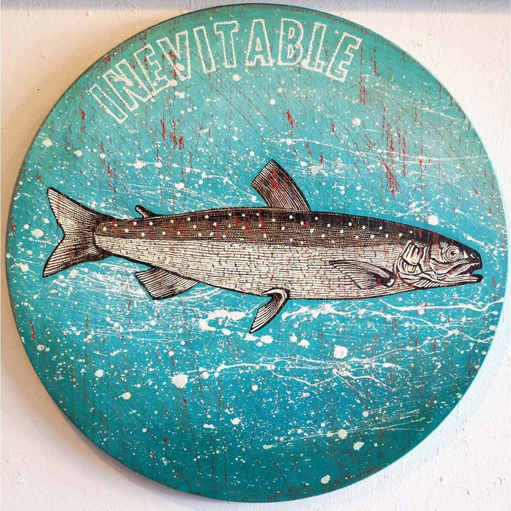 Inevitable - Jon Langford - Yard Dog Art