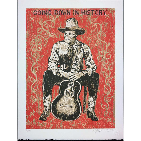 Going Down In History - Jon Langford - Yard Dog Art