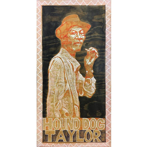 Hound Dog Taylor - Jon Langford - Yard Dog Art