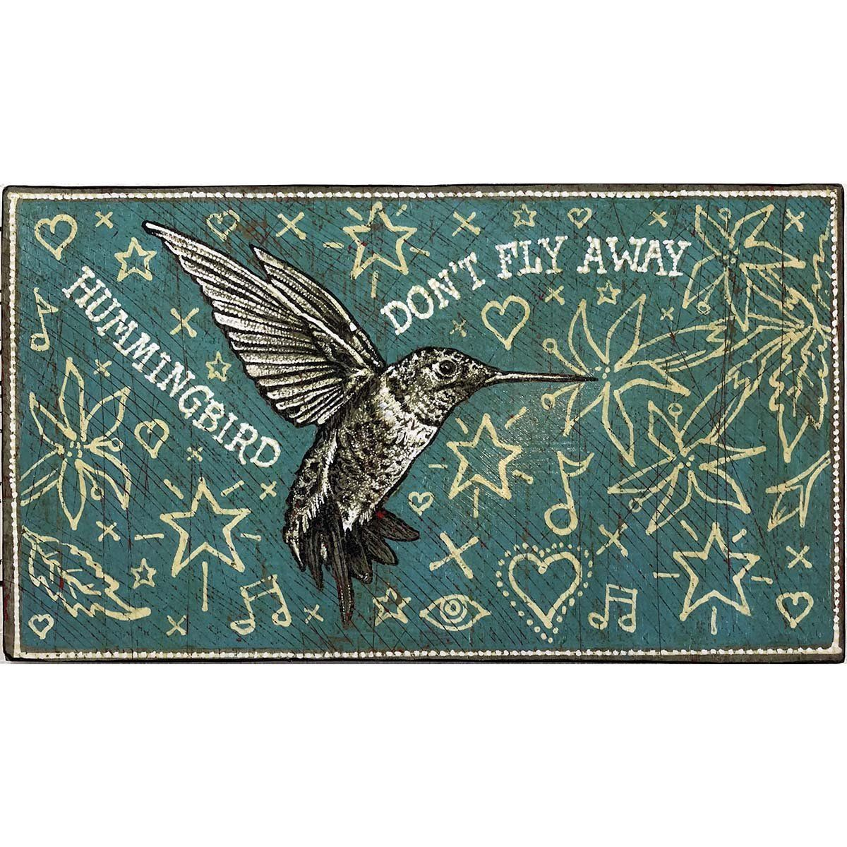 Hummingbird - Jon Langford - Yard Dog Art