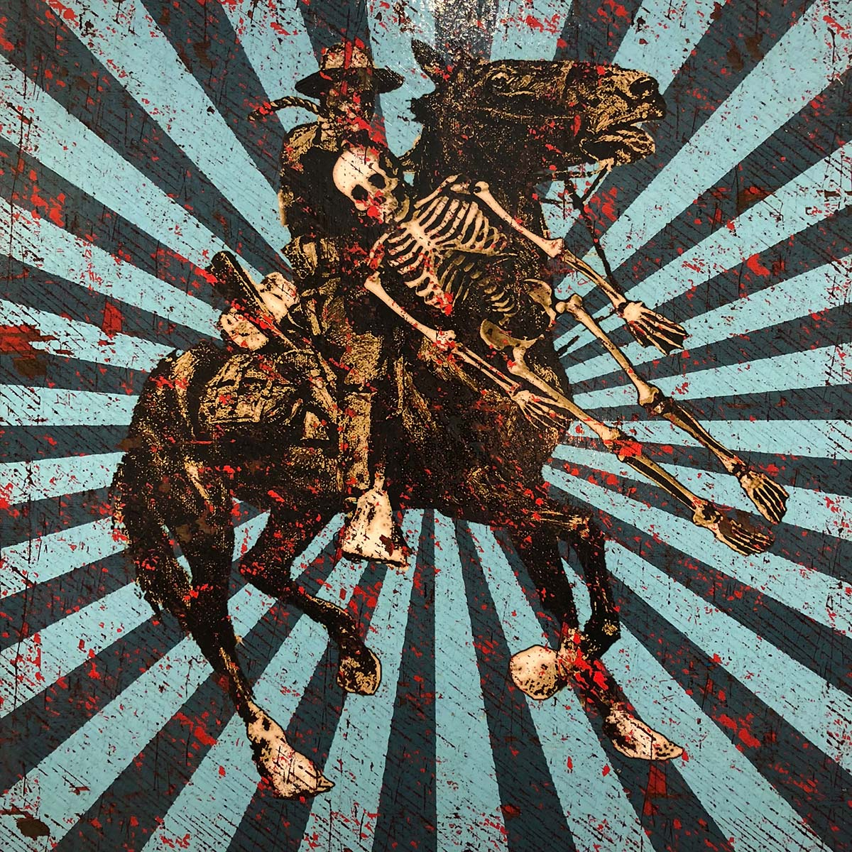 Four Lost Souls - Jon Langford - Yard Dog Art
