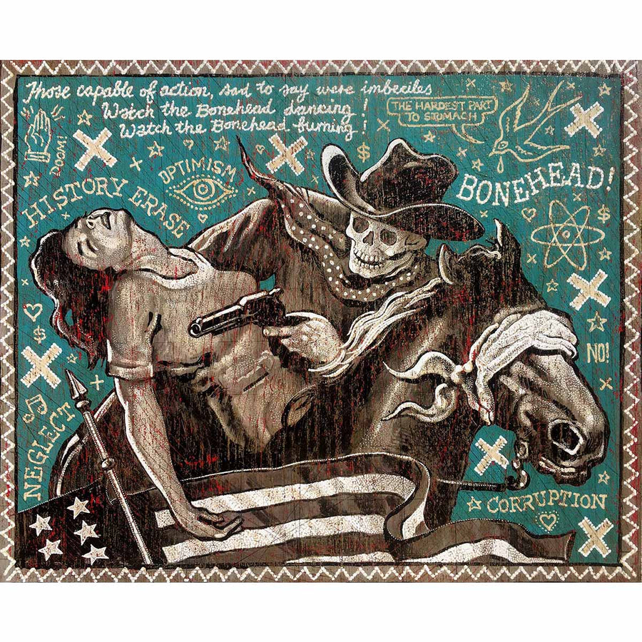 Bonehead Action - Jon Langford - Yard Dog Art