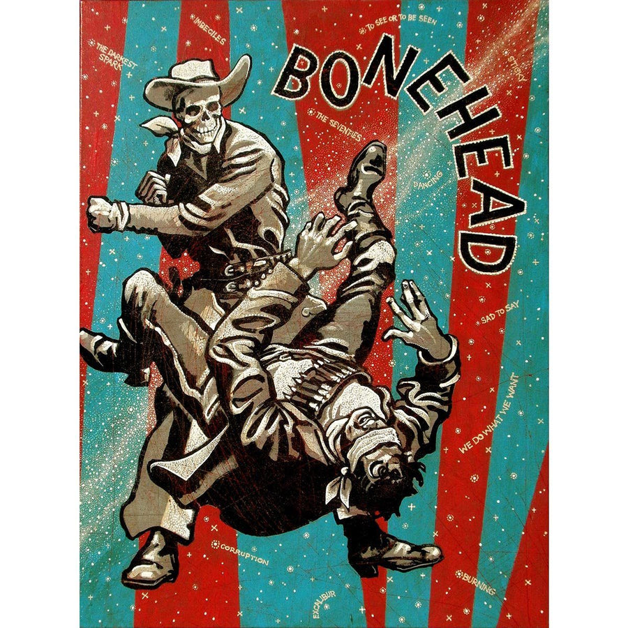 Bonehead - Jon Langford - Yard Dog Art