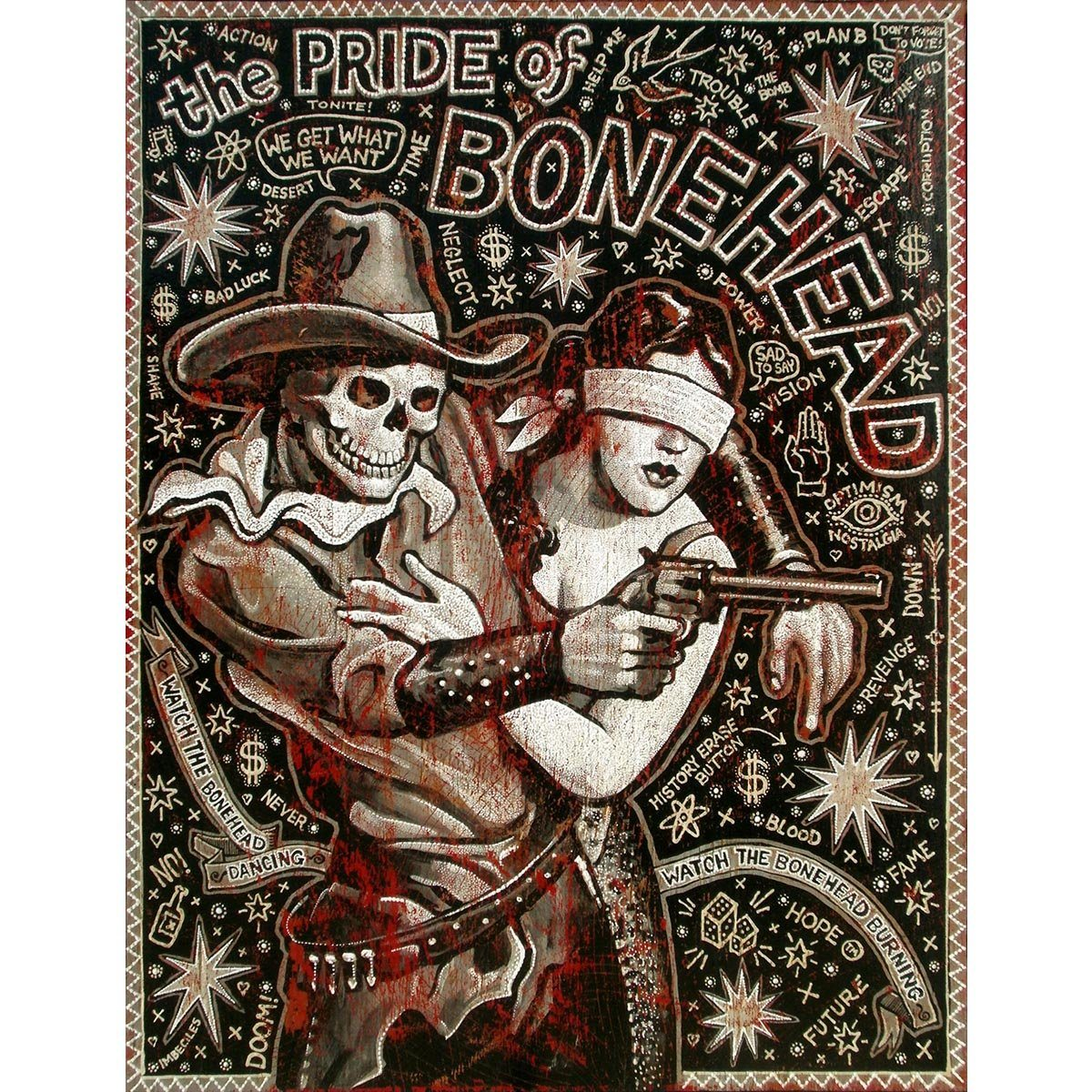 Pride Of The Bonehead - Jon Langford - Yard Dog Art