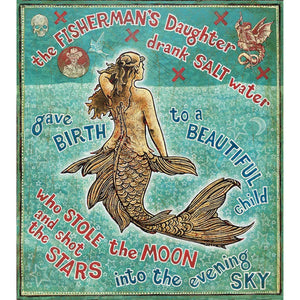The Fisherman's Daughter - Jon Langford - Yard Dog Art