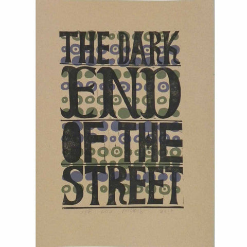 The Dark End Of The Street - Jeb Loy Nichols - Yard Dog Art