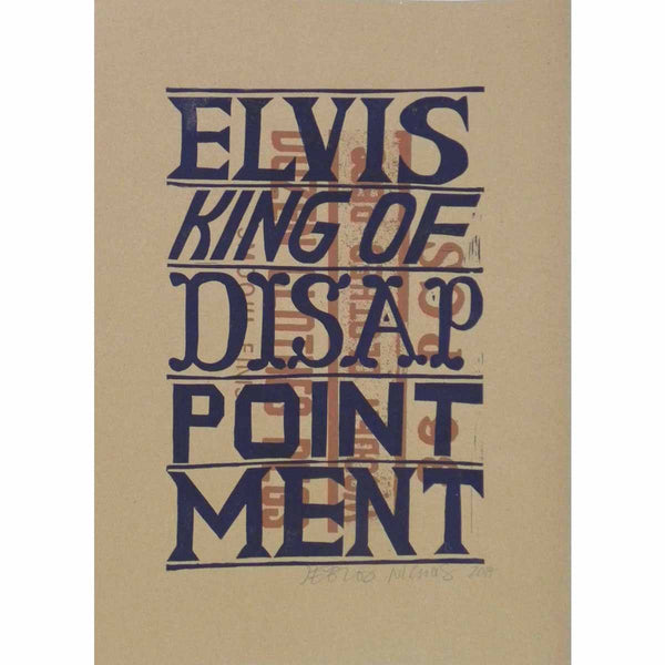 Elvis King Of Disappointment - Jeb Loy Nichols - Yard Dog Art