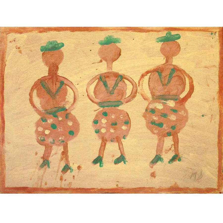 3 Women - Jimmy Lee Sudduth - Yard Dog Art
