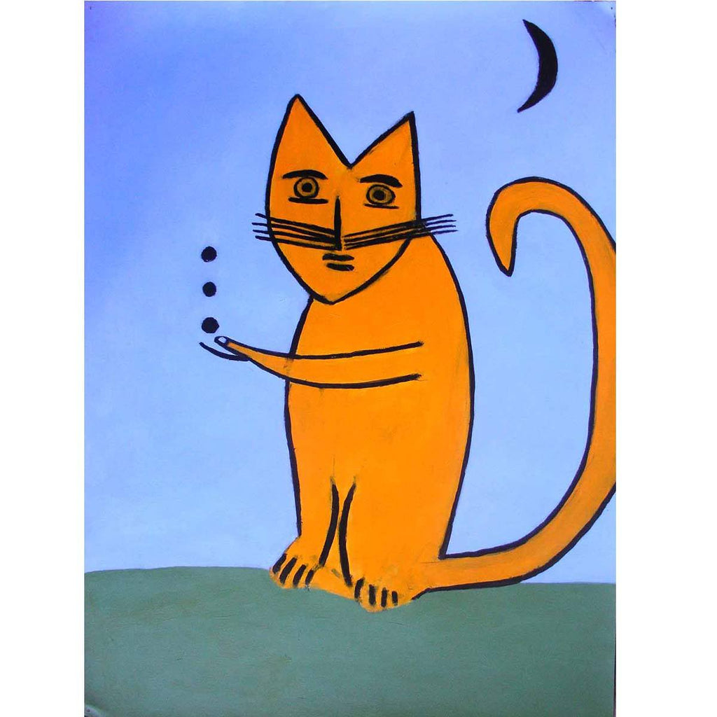 Juggle Cat - Joe Max Emminger - Yard Dog Art