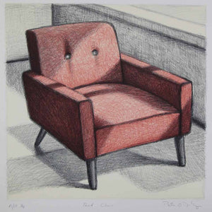 Red Chair - Peter O'Doherty - Yard Dog Art