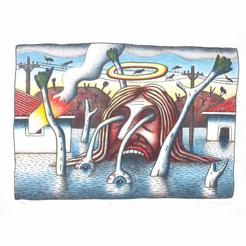 Fire & Water - Reg Mombassa - Yard Dog Art