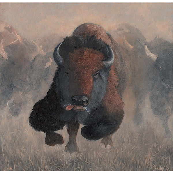 Buffalo Stampede II - Eric Bellis - Yard Dog Art