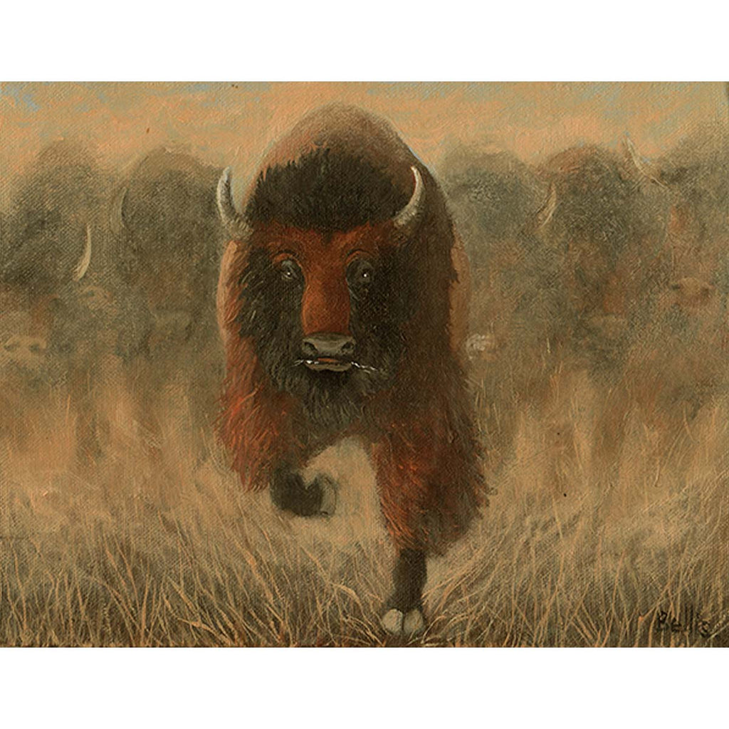 Buffalo Stampede I - Eric Bellis - Yard Dog Art