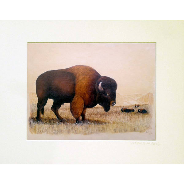 Untitled Buffalo II Print - Eric Bellis - Yard Dog Art