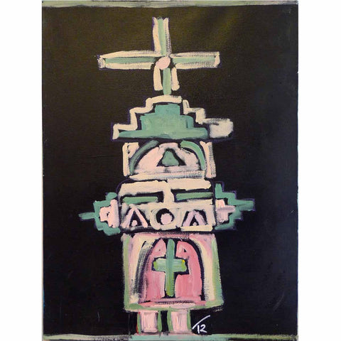 Mionite Kachina - Tom Russell - Yard Dog Art