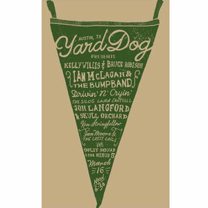 Pennant Poster  2013 - Yard Dog Art - Yard Dog Art