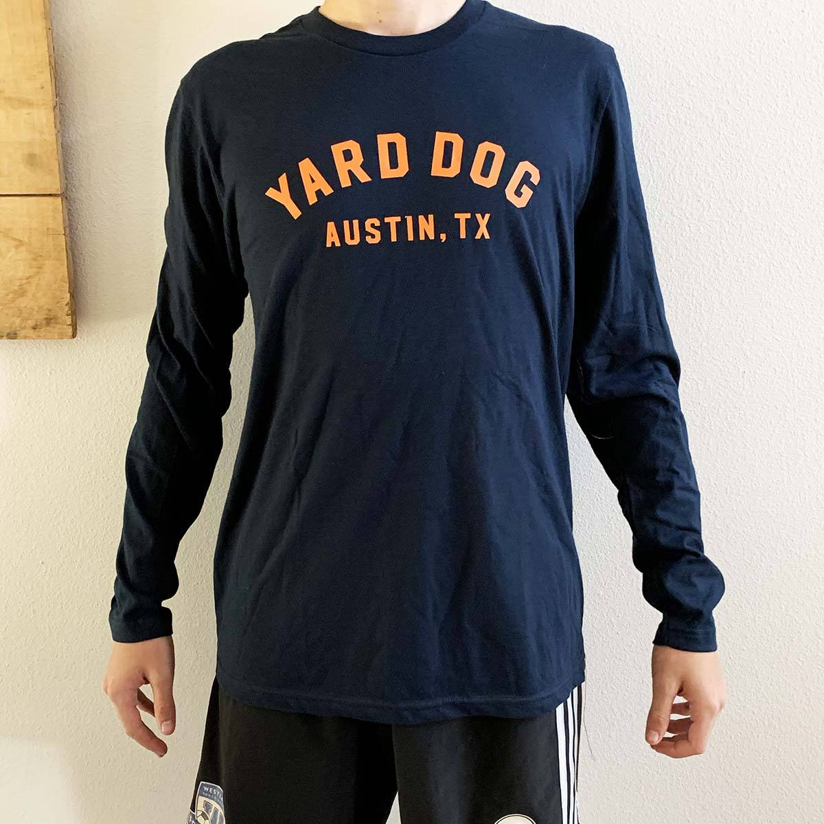 Yard Dog Austin TX Long Sleeve  Tee Shirt - Yard Dog - Yard Dog Art