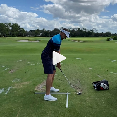 Ian Poulter - Practice T with Mirror