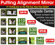 Putting Alignment Mirror
