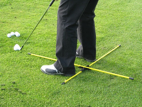Practice T Alignment Rod System By Michael Breed Eyeline Golf