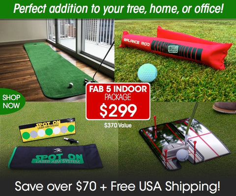 New Fab 5 Indoor Putting Package - Only 2 Left!