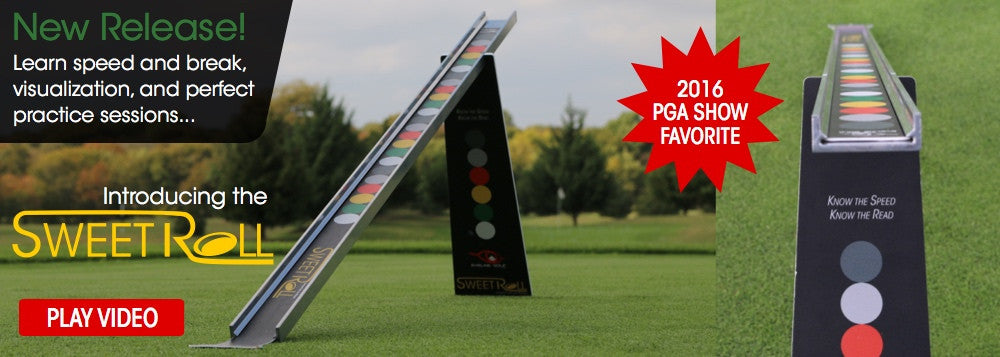 Sweet Roll Rail System by EyeLine Golf