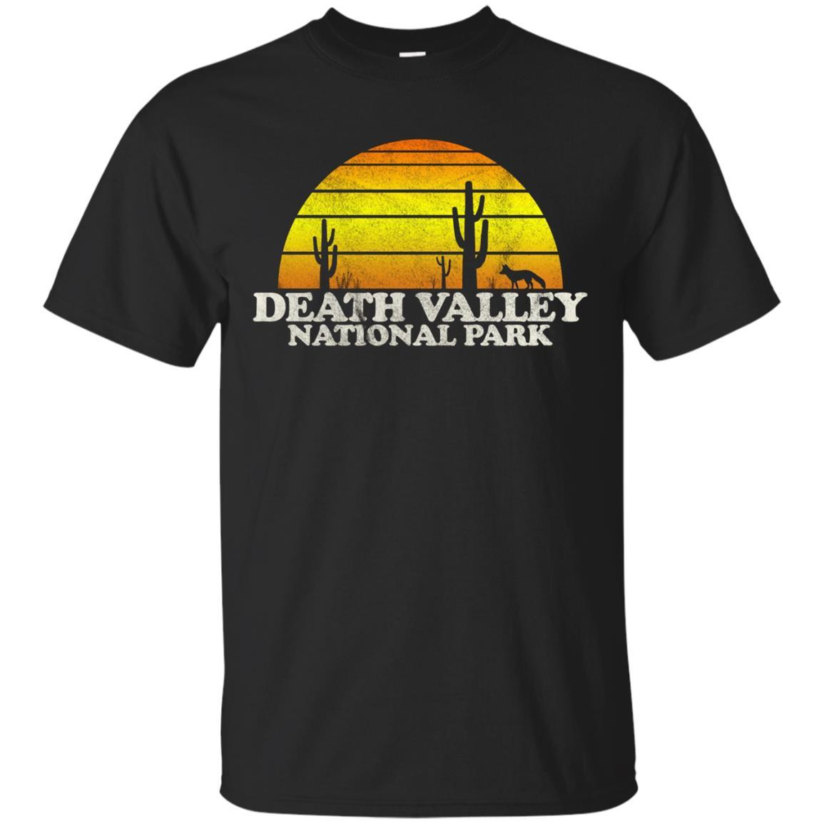 Vintage Death Valley National Park Sunset Tee Shirt
