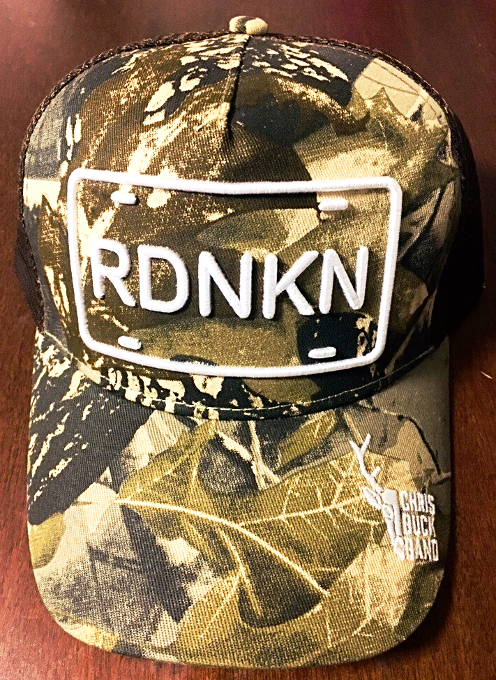 Chris Buck Band Custom Camoflauge RDNKN Hat
