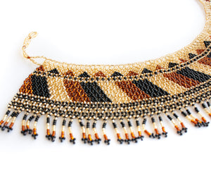 Cleo Huichol Necklace
