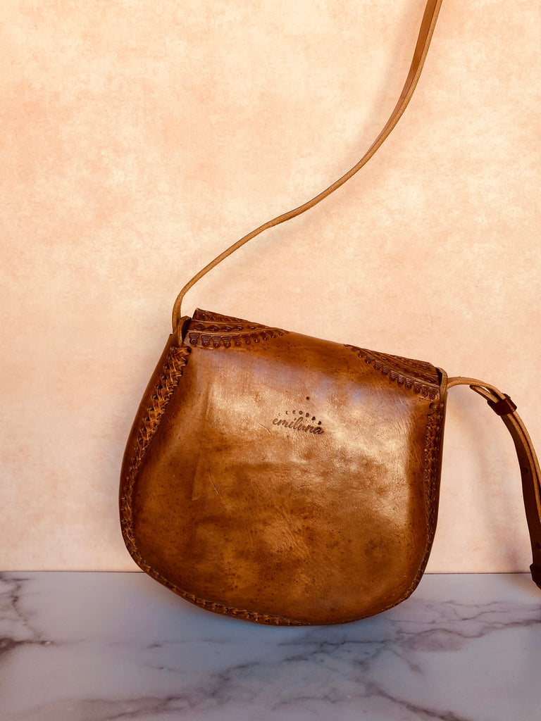 Chiapas Mini Saddle Bag Crossbody