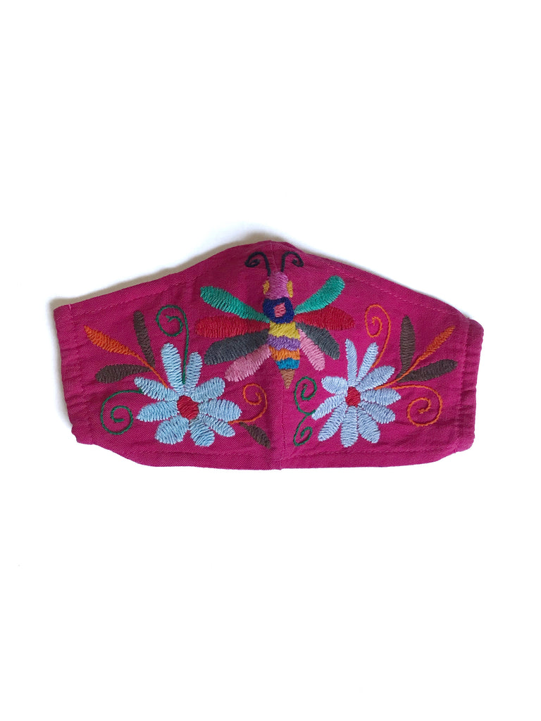 Pink Otomi Face Mask #13