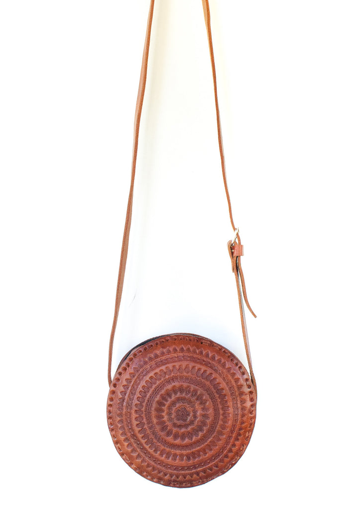 Chiapas Medium Round Crossbody