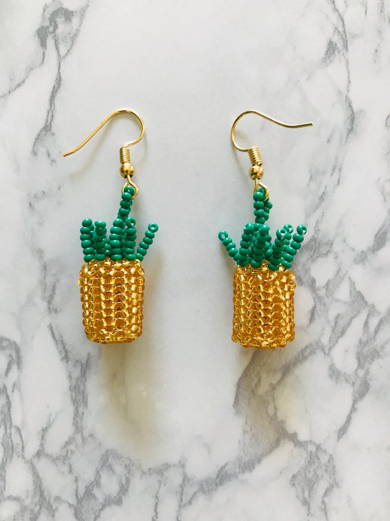 Little Pineapple Earrings