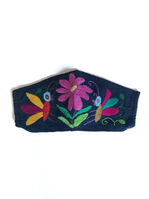 Navy Otomi Face Mask