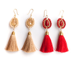 Martita Tassel Earrings