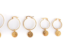 Raya Hoop Earrings