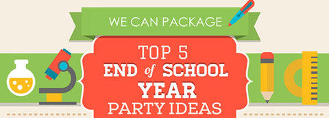 Top 5 End Of School Year Party Ideas Infographic