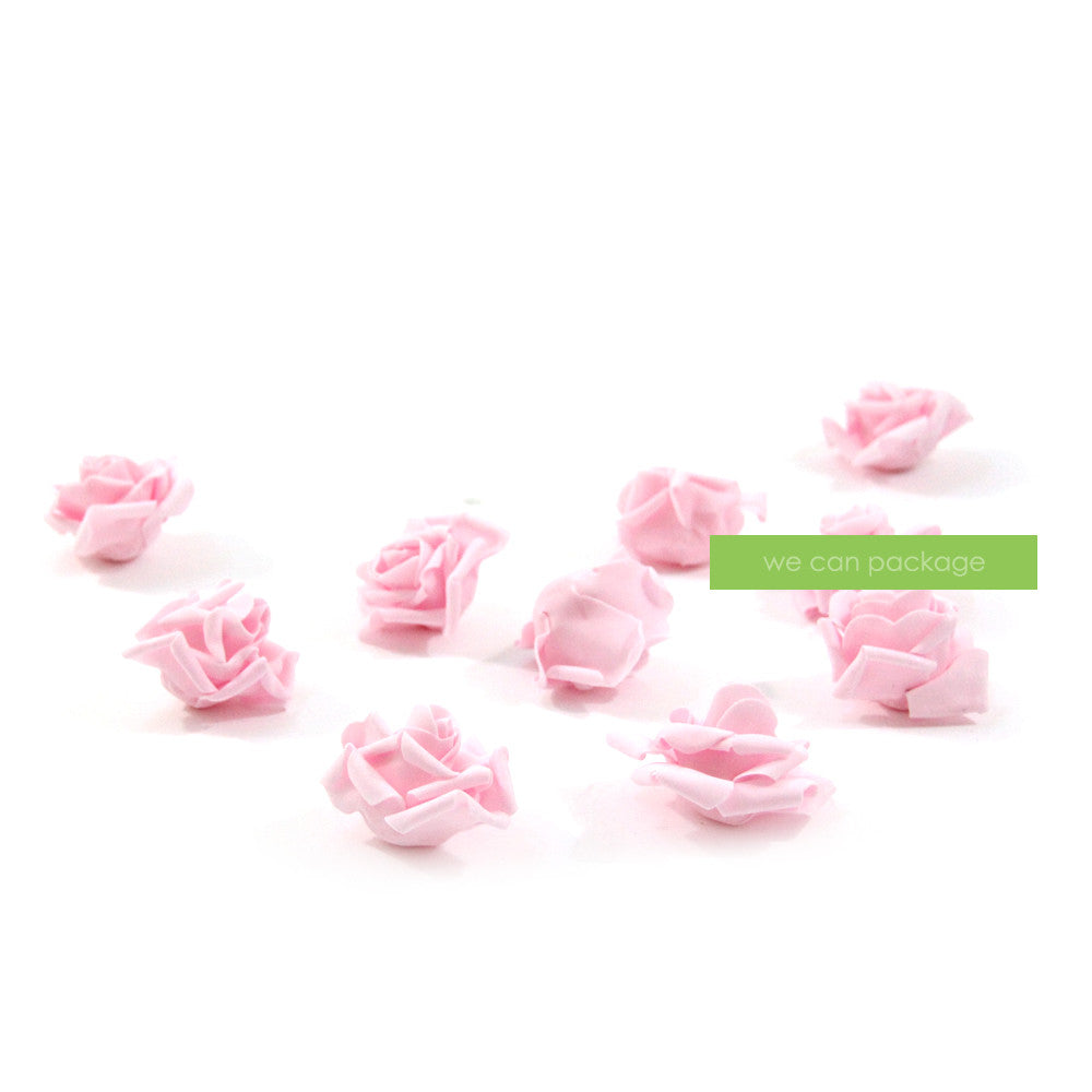 Artificial Baby Pink Roses - We Can Package
