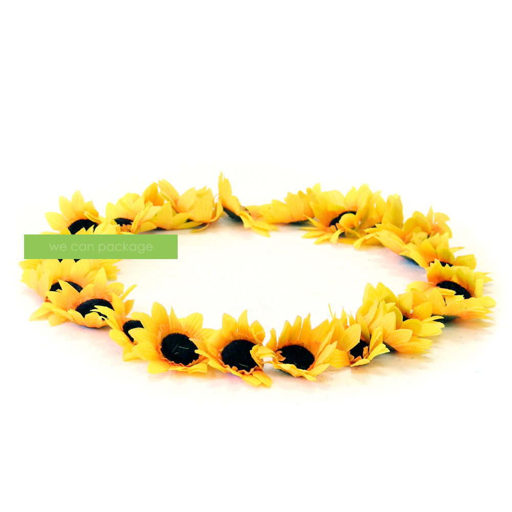 Artificial Sunflower Heads We Can Package