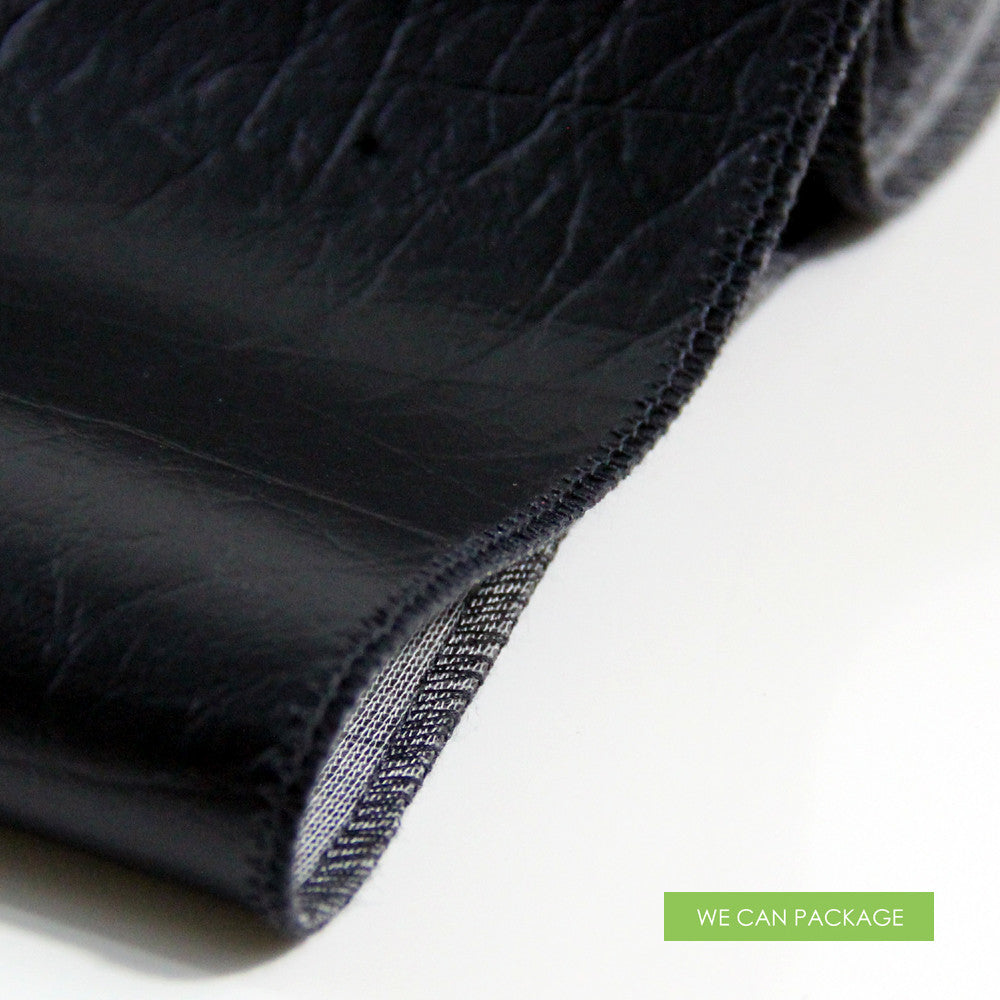 Incroyable Leather Table Runner · Black Leather Table Runner ...