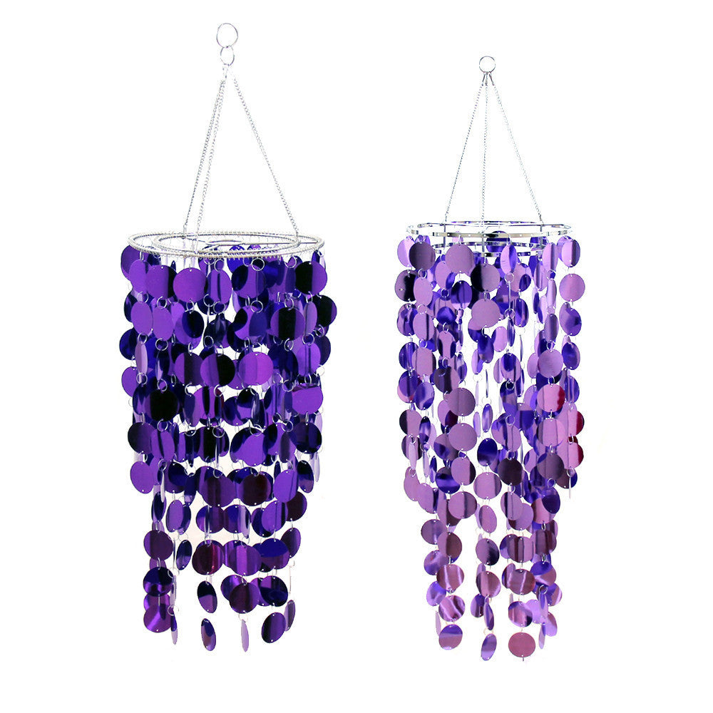 Purple Party Chandelier Purple Wedding Decorations – Party Chandeliers