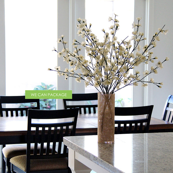Red Cherry Blossom Floral Branches Wholesale Cherry