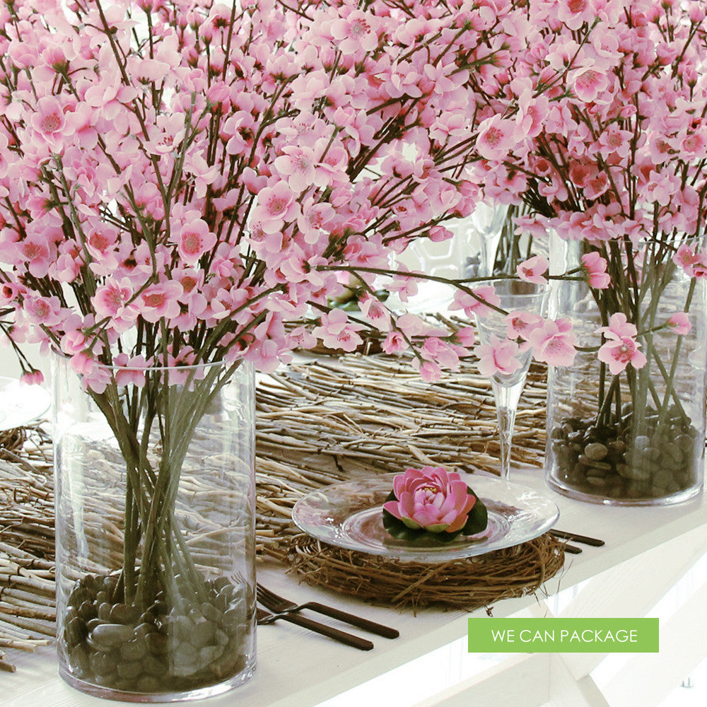 Pink Lotus Flowers For Event Table Decorations