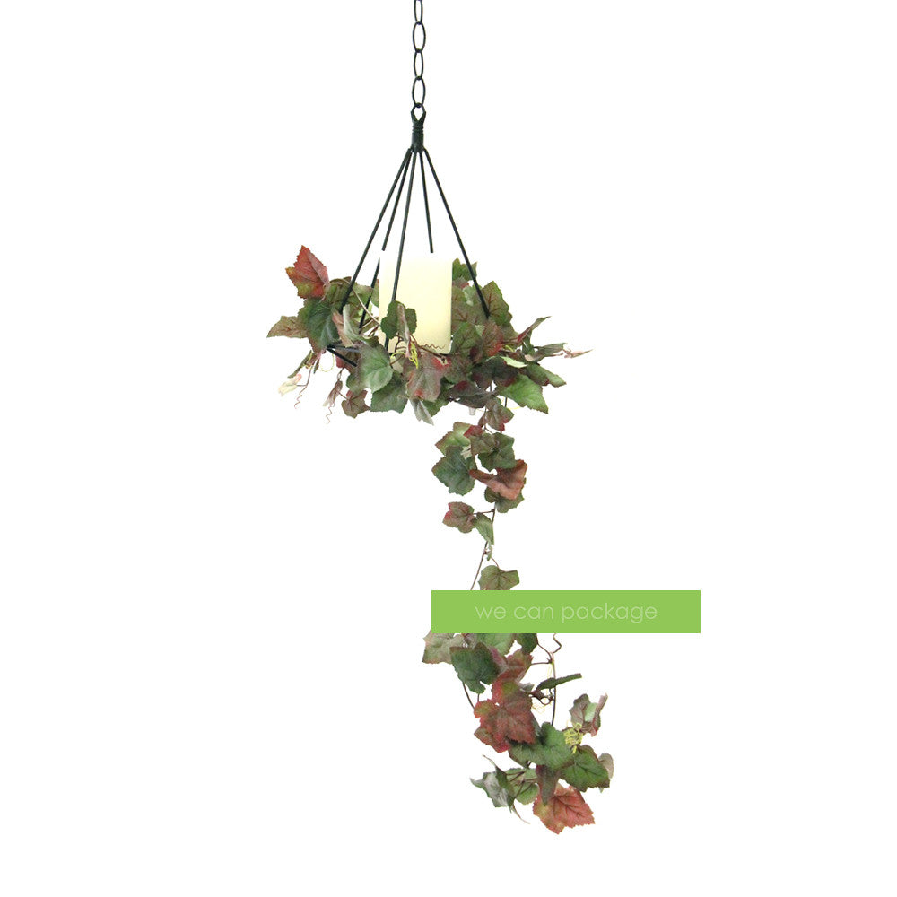 Hanging Geometric Candle Holder We Can Package