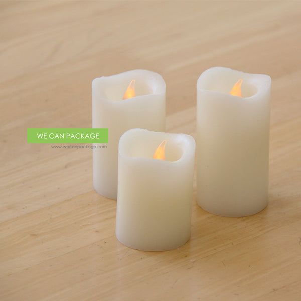 Battery Operated Led Pillar Candles Large Led Candles