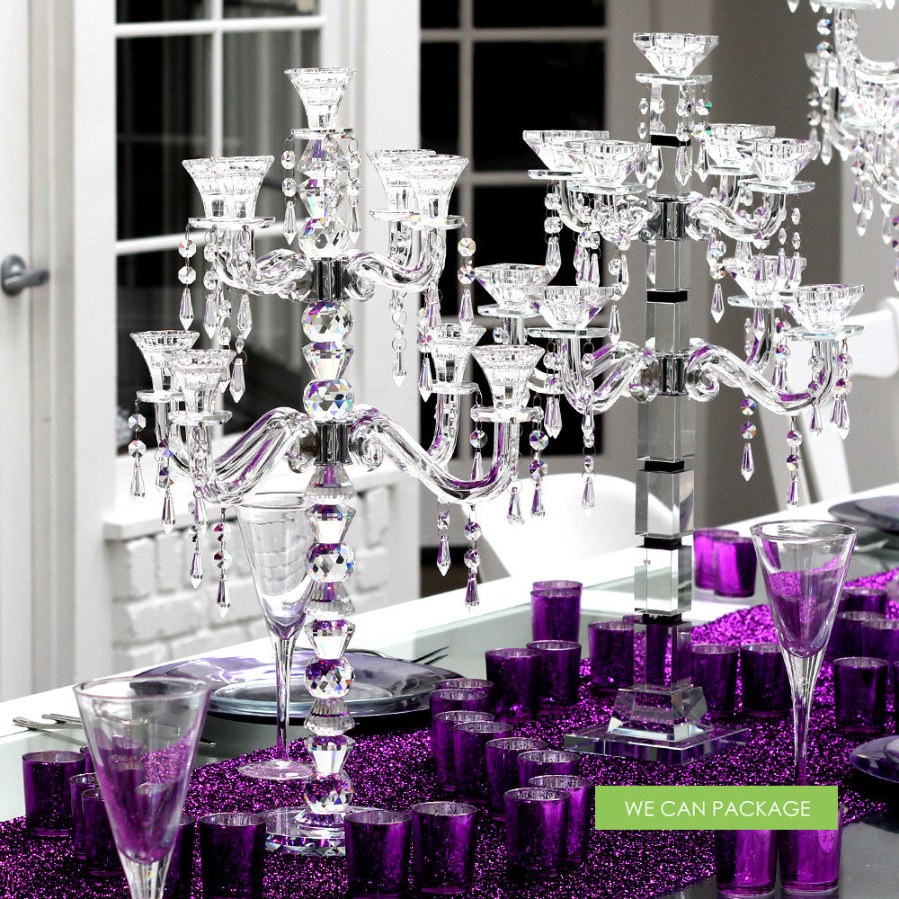 Purple Weddings Ideas: DIY Wedding Centerpiece Ideas