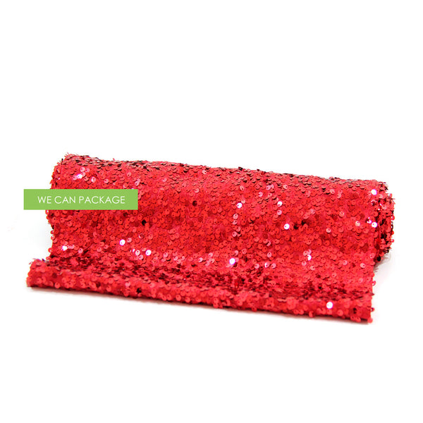 Red Sequin Table Runner