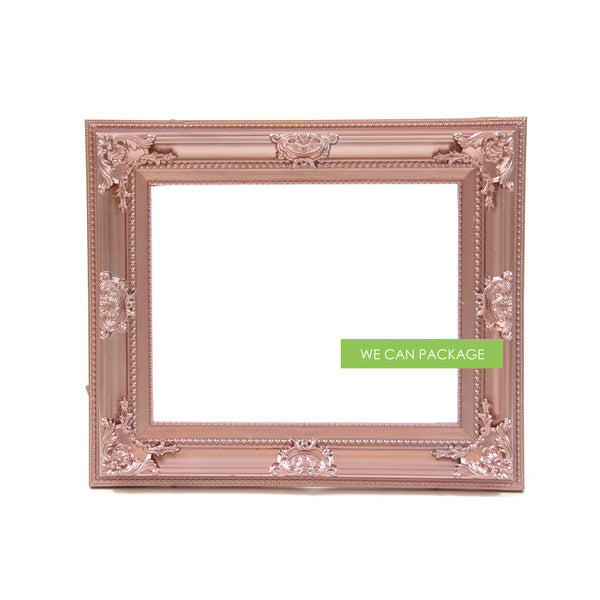 rose gold ornate picture frame by we can package. Black Bedroom Furniture Sets. Home Design Ideas