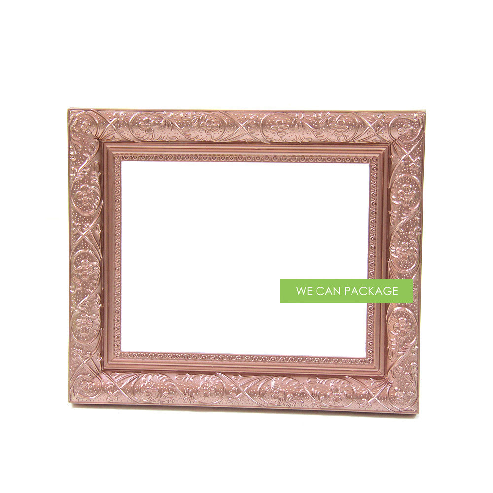 rose gold vintage picture frame